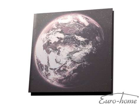 OBRAZ EARTH S22559 60x60cm ALUMINIUM ART